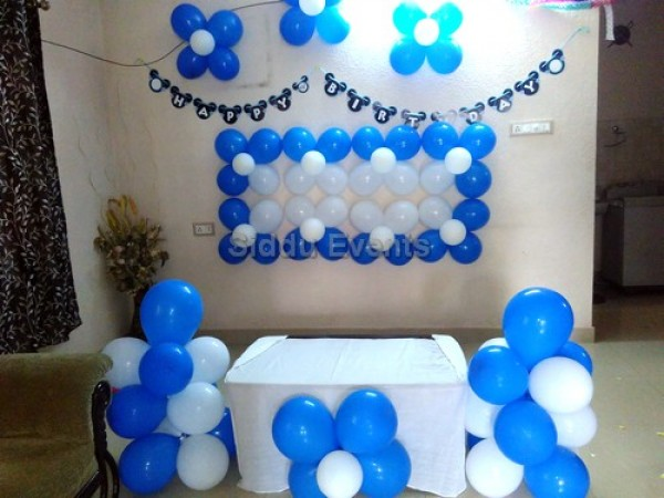 Simple Balloon Decoration For Home