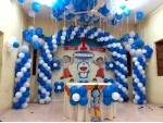 Doremon And Chota Bheem Decoration For Birthday Party
