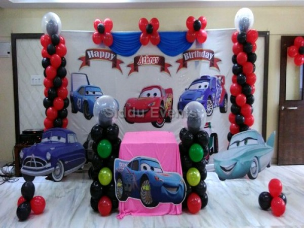 Basic Car Theme Decoration 1