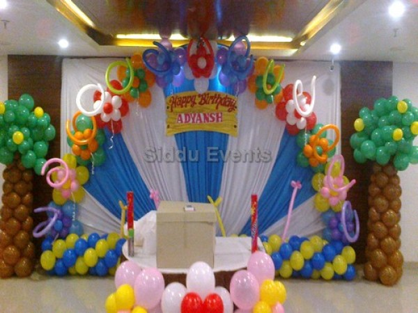 Garden Theme Decoration For Birthday Party