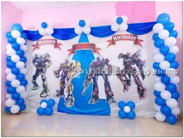 Basic Transformer Theme Decoration