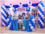 Kunffu Panda Theme Decaration 1