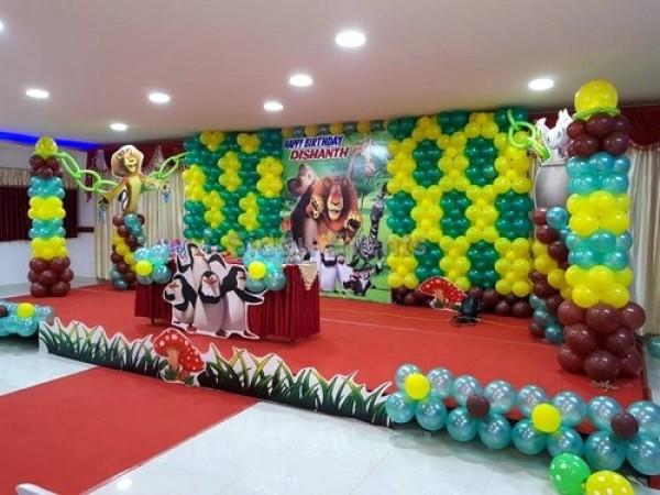 Madagascar Theme Decoration
