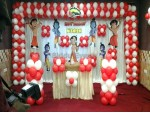 Little Krishna And Chota Bheem Theme Decoration For Birthday 1