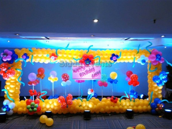 Garden Theme Decoration For Birthday Party