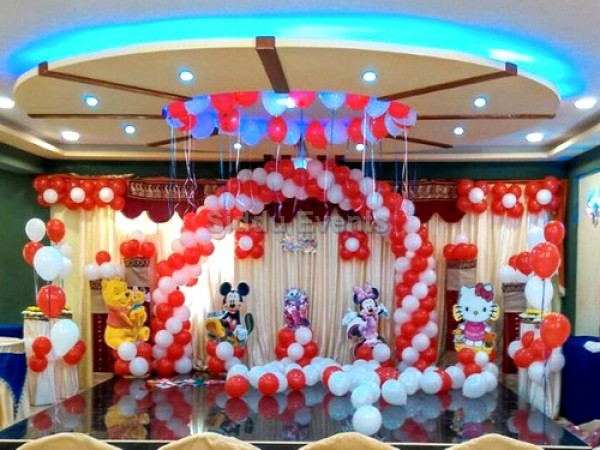 Mickey And Friends Theme Decoration For Birtday