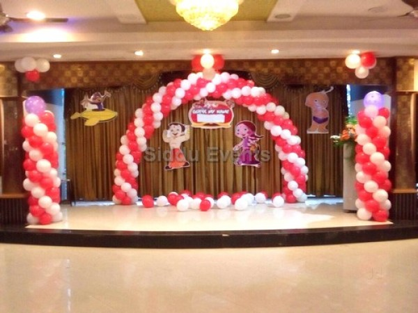 Chotta Beam Theme Decoration