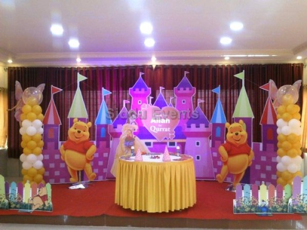 Winnie The Pooh Decoration For Birthday Party