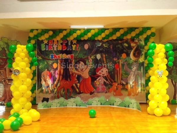 Chotta Beam Theme Decoration 1