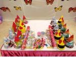 Mickey And Baby Flex Theme Decoration