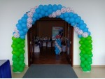 Chotta Beam And Baby Flex Decoration