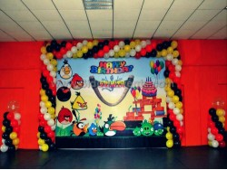 Angry Bird Flex Theme Decoration