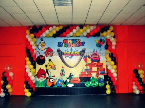Angry Bird Flex Theme Decoration
