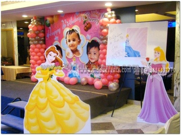 Princess And Baby Image Decoration