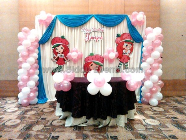 Girl Theme Decoration For Birthday