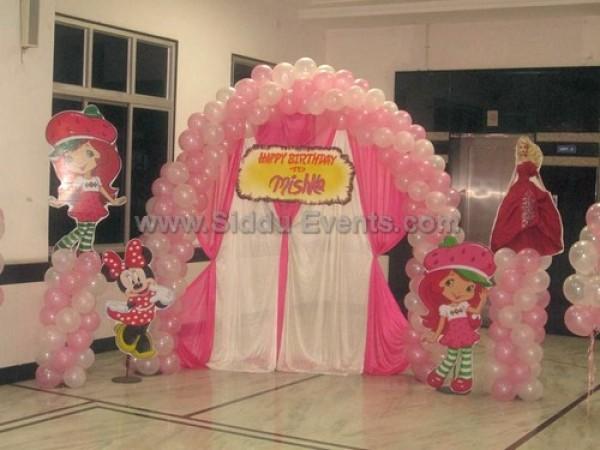 Strawberry Theme Decoration