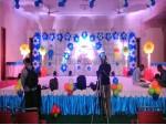 Grand Blue & White Theme Decoration