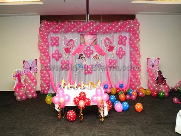 Pink Fairy Theme Decoration