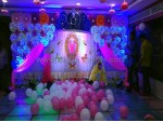 Colourful Paper Craft Theme Decoration