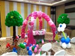 Unquie Center Arch Princess Decoration