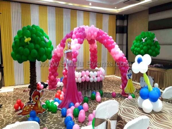Unquie Center Arch Princess Decoration