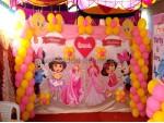Princess And Dora Theme Decoration