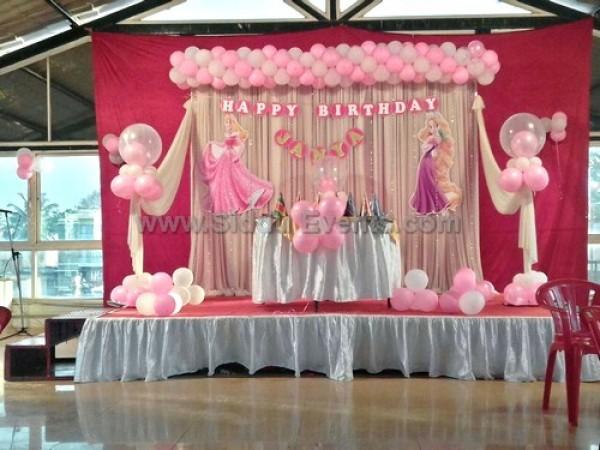 Baby Pink Theme Decoration