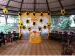 Yellow And Black Theme Decoration