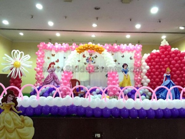 Grand Princess Theme Decoration