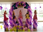 Balloon Arch Princess Decoration