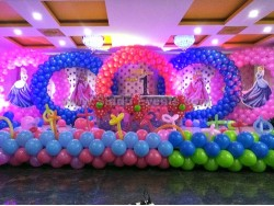 5 Circle Balloon Arch Decoration