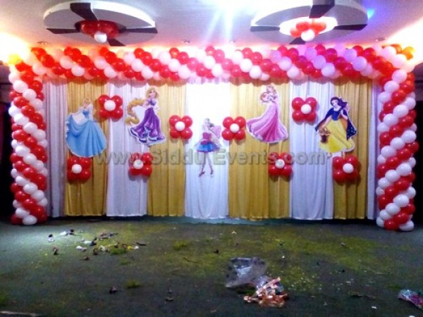 Big Princess Theme Decoration