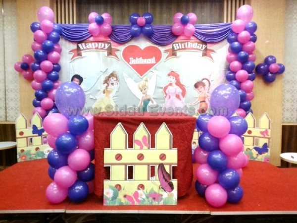 Pink Tinkerbell Theme Decoration