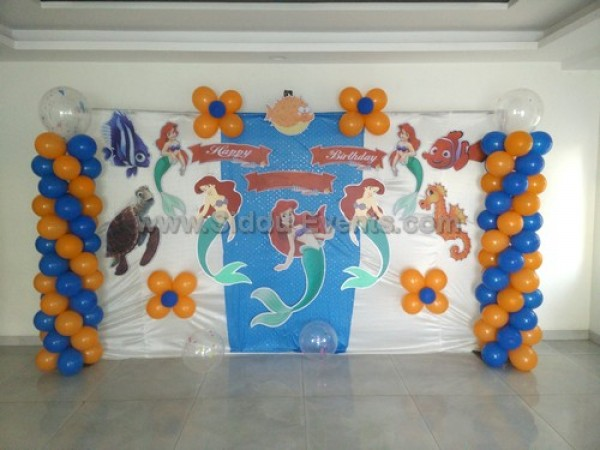 Basic Marmaid Theme Decoration