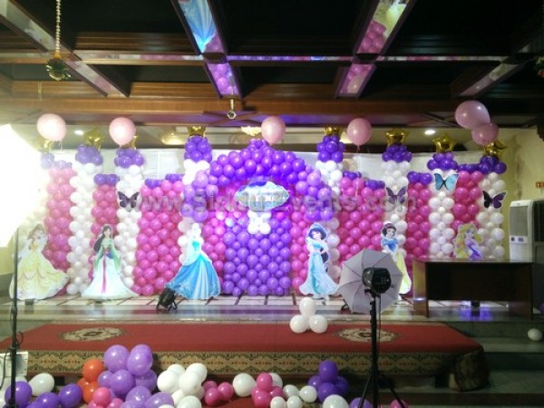 Grand Balloon Castle Princess Decoration