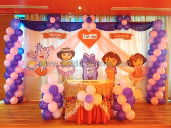 Dora Theme Decoration
