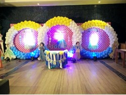3 Circle Balloon Backdrop Decoration