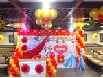 Red And Gold Princess Decoration