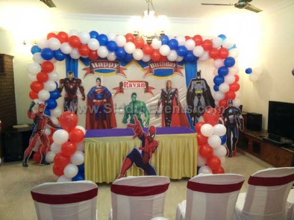Avengers Theme Decoration