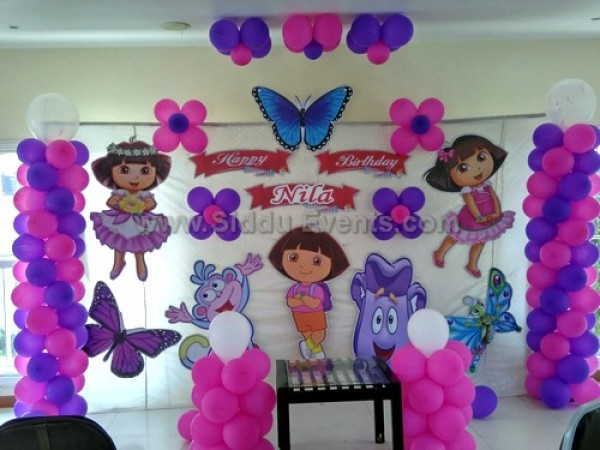 Basic Dora Theme Decoration