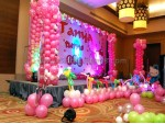Beautyful Hello Kitty Flex And Balloon Decoration