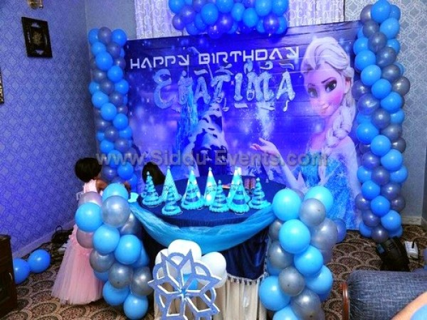 Unique Frozen Theme Flex Decoration