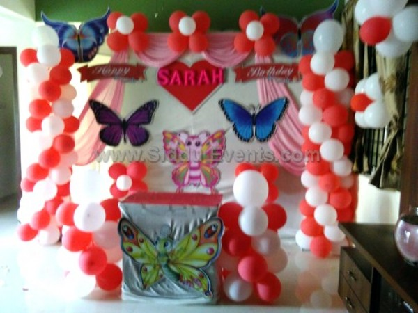 Basic Butterfly Theme Decoration