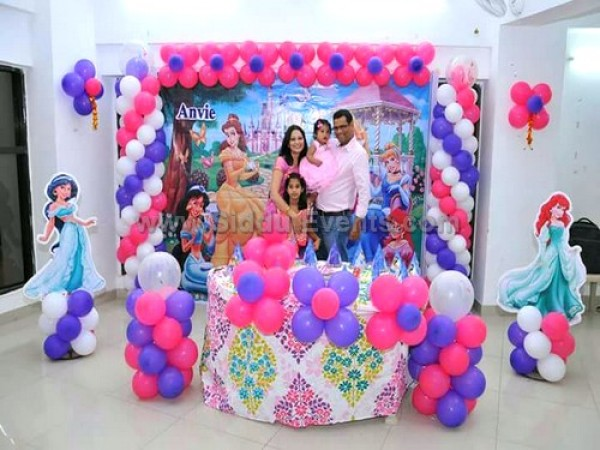 Princess And Friends Theme Decoration