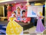 Baby Photo And Princess Theme Decoration