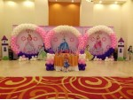 Princess 3 Circle Theme Decoration