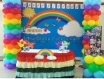 Flex Rainbow Theme Decoration