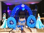 Unique Arch And Castle Balloon Decoration