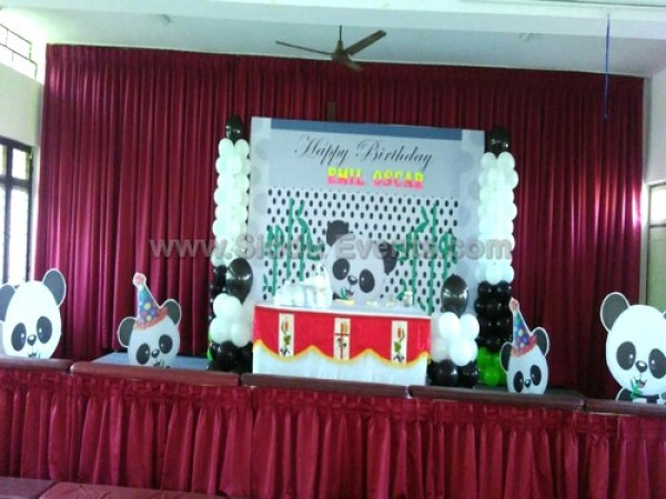 Giant Panda Theme Decoration