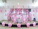 Pink Fairy Backdrop Decoration
